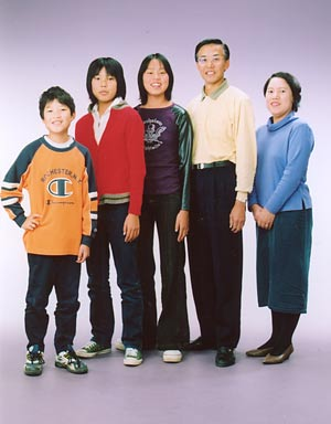 子どもたちと(2002年