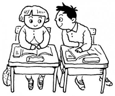 木造の小学校を