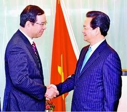 志位委員長とベトナム首相