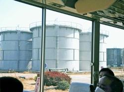 汚染水貯水タンク